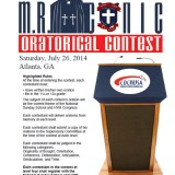 2014 MR Conic Oratorical Contest