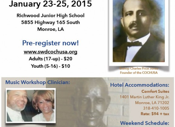 Southwestern Diocese 2015 Music Workshop and Concert