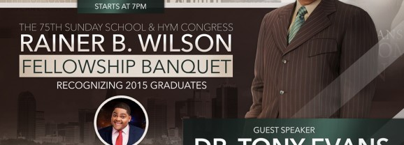 2015 Rainer B Wilson Fellowship Dinner