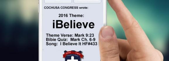 2016 COCHUSA Congress Theme
