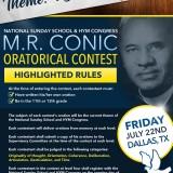 2016 MR Conic Oratorical Contest