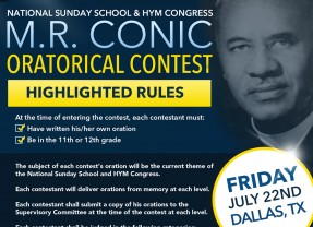 2016 MR Conic Oratorical Contest