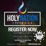 2017 HolyNation Conference