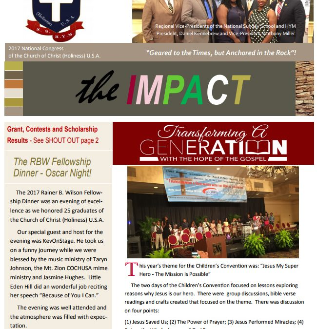 2017 Impact News