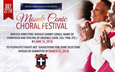 2018 Choral Festival – A Combined Choir!