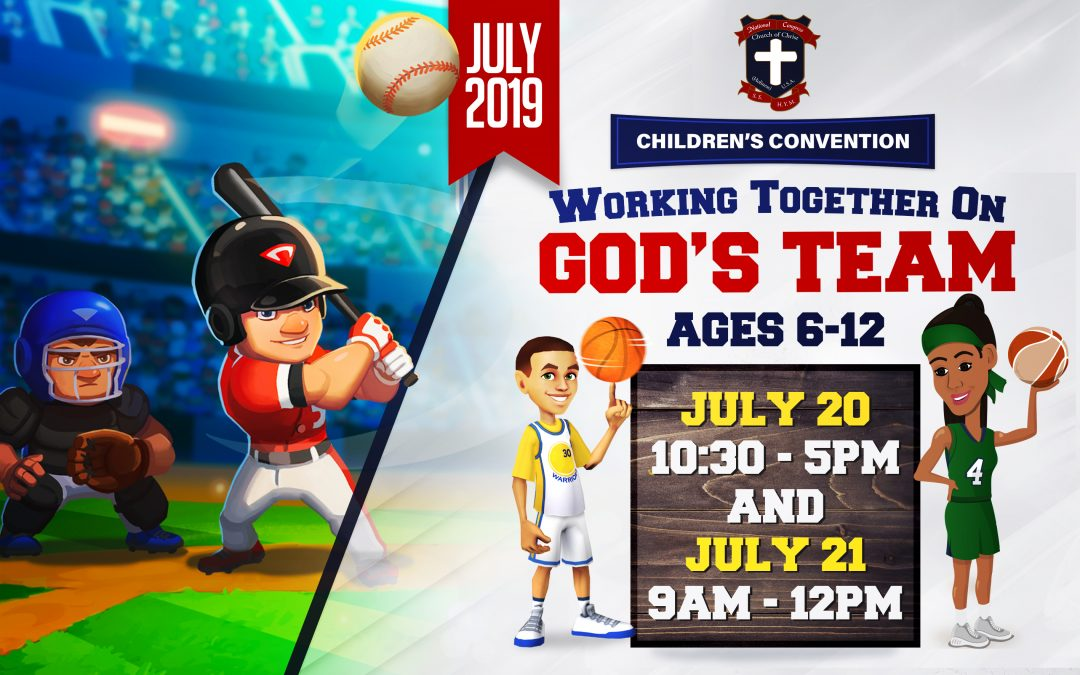 2019 Children's Convention – Are You Ready?