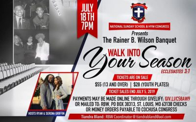 2019 Rainer B. Wilson Fellowship Dinner