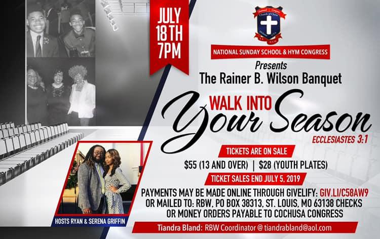2019 Rainer B. Wilson Fellowship Dinner