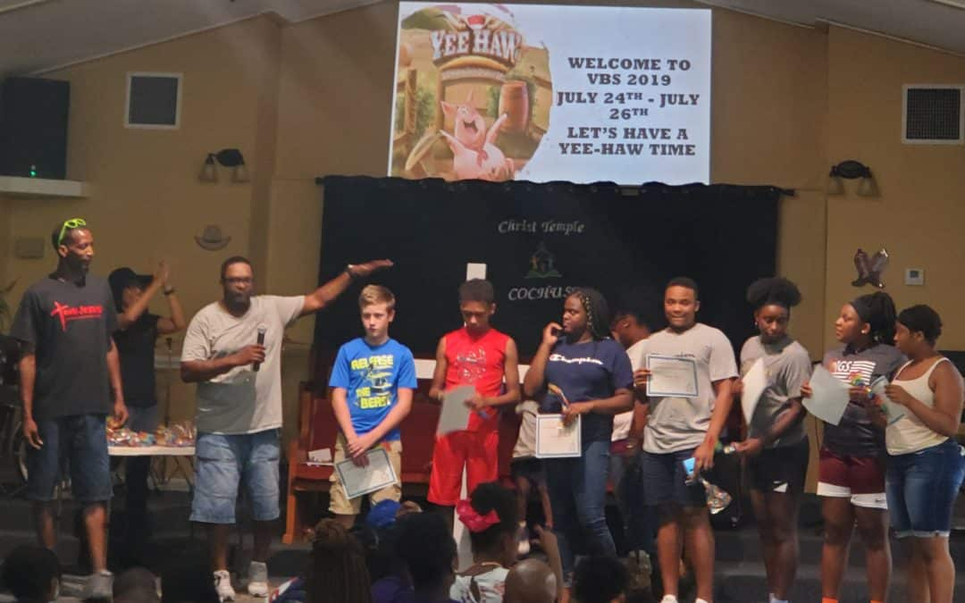 Christ Temple Covington – VBS 2019