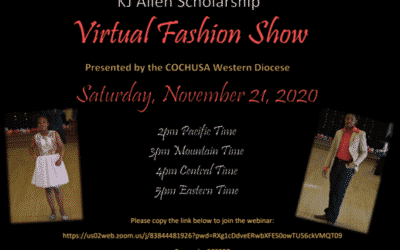 Virtual Fashion Show – November 21st!
